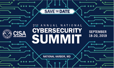 2019 CISA Cybersecurity Summit